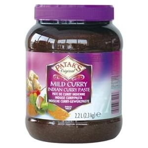 PATAKS CURRY PASTE MILD 2,4KG