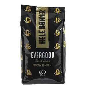 EVERGOOD DARK ROAST HEL 600G