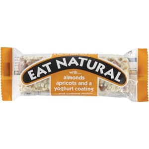 EAT NATURAL ALMONDS APRICOT YOGHURT BAR 50G
