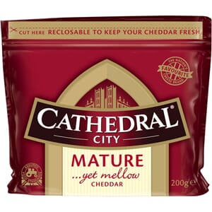 CATHEDRAL CITY MATURE CHEDDAR 14MND 200G