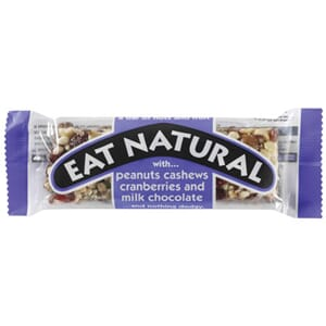 EAT NATURAL FRUKT & NØTT BAR 50G