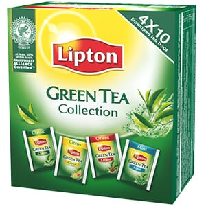 LIPTON GREEN TE COLLECTION 40POS