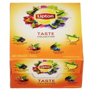 LIPTON FRUKT TE TASTE COLLECTION 40POS