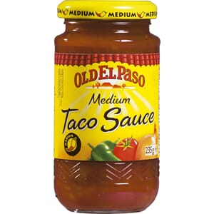 OLD EL PASO TACO SAUS MEDIUM 235G