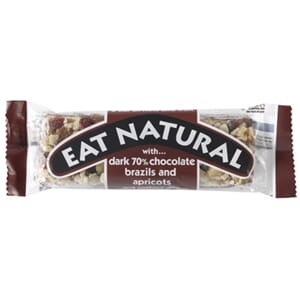 EAT NATURAL DARK 70% CHOCOLATE BAR 45G
