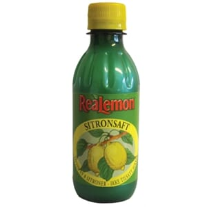 REALEMON SITRONSAFT 25CL