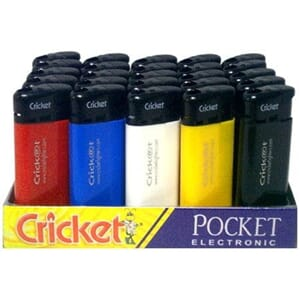 CRICKET HUSHOLDNING LIGHTER STK