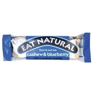 EAT NATURAL CASHEW BLUEBERRY BAR 45G