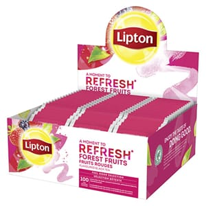 LIPTON REFRESH FOREST FRUIT TE 100POS