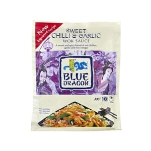 BLUE DRAGON WOKSAUS SWEET CHILI&GARLIC 120G