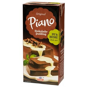 PIANO SJOKOLADEPUDDING 1L
