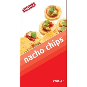 FIRST PRICE NACHO CHIPS 200G