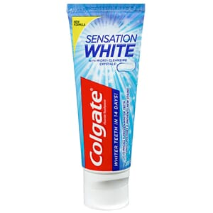 COLGATE TANNKREM SENSATION WHITE 75ML