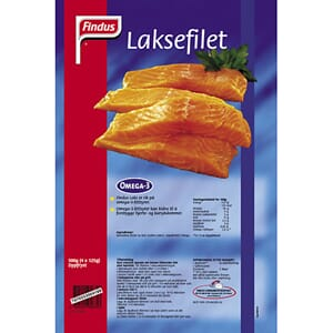 FINDUS LAKSEFILET NATURELL 500G