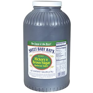 SWEET BABY RAYS BBQ SAUCE HICKORY 3,78L