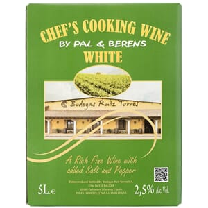 PAL & BERENS CHEFS COOKING WINE WHITE 5L