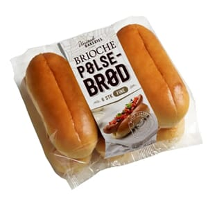 UNITED BAKERIES PØLSEBRØD BRIOCHE 270G
