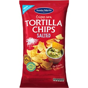 SANTA MARIA TORTILLA CHIPS SALTED 475G