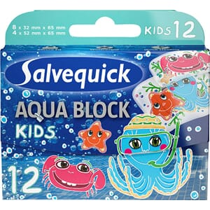 SALVE QUICK AQUA BLOCK KIDS 12STK