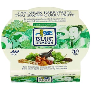 BLUE DRAGON CURRY PASTE GREEN 50G