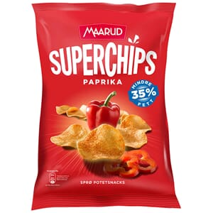 MAARUD SUPERCHIPS PAPRIKA 135G
