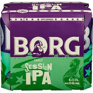 BORG SESSION IPA 0,5L BX 6STK
