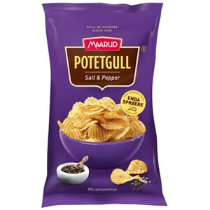 MAARUD POTETGULL SALT & PEPPER 290G