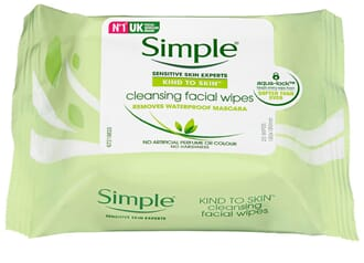 SIMPLE FACIAL WIPES 25STK
