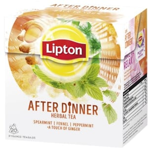 LIPTON AFTER DINNER URTETE 20POS
