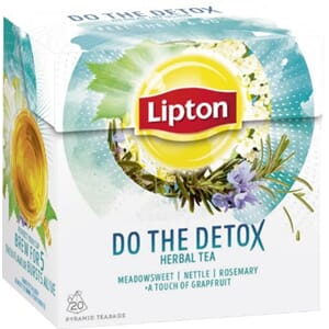LIPTON DO THE DETOX URTETE 20POS