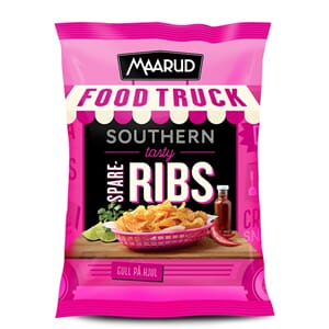 MAARUD CHIPS SWEET RIBS 130G