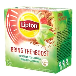 LIPTON BRING THE BOOST PYRAMIDE 20POS