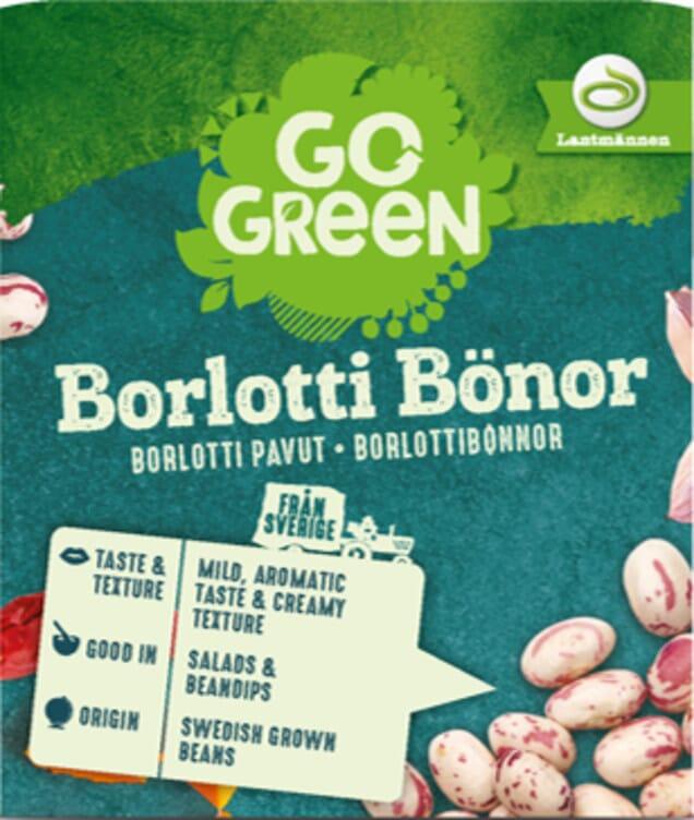 Go Green Borlotti Bønner økologisk 290g Toolbox As