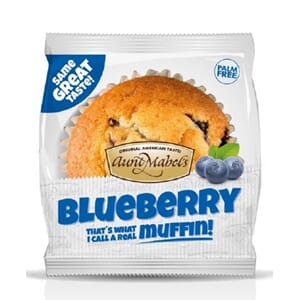 AUNT MABELS BLUEBERRY MUFFINS 100G