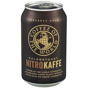 COFFFEE OF THE WORLD NITRO KAFFE 0,33L STK