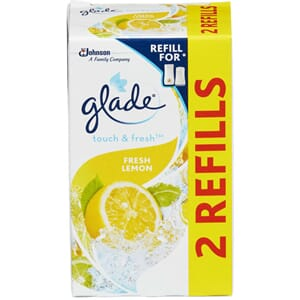 GLADE ONE TOUCH LEMON DUO REFILL 20ML