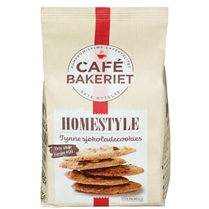 CAFE BAKERIET HOMESTYLE COOKIE 170G