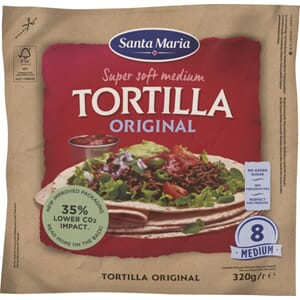 SANTA MARIA TORTILLA MEDIUM 8STK 320G