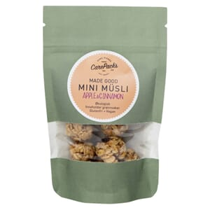 CARE PACKS MUSLI KULER APPLE CINNAMON GLUTENFRI 24G