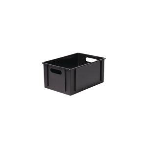 BASIC BOX PLASTKASSE 12,5 L SORT