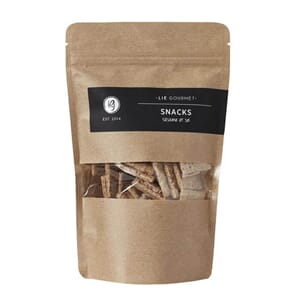 LIE GOURMET SNACKS SESAM SEA SALT 120G