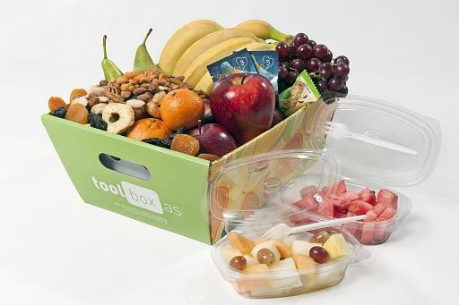 Fruktkurv levering