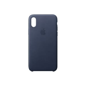 APPLE IPHONE X LEATHER CASE MIDN BLUE