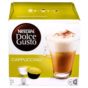 DOLCE GUSTO CAPPUCCINO KAFFE 16STK