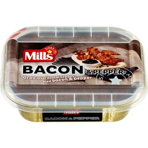 MILLS OVNSBAKT BACON PEPPER POSTEI 185G