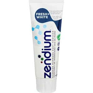 ZENDIUM TANNKREM FRESH WHITE 75ML