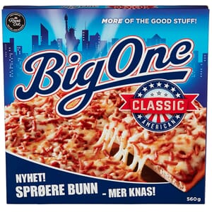 BIG ONE PIZZA AMERICAN CLASSIC 560G