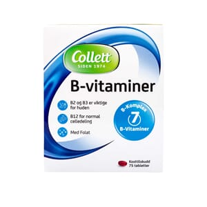 COLLETT B-VITAMIN 75STK
