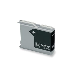 BROTHER LC-1000BK BLEKKPATRON SORT