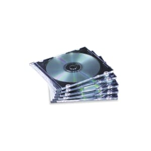 PK25 FELLOWES SLIM  LINE CD/DVD-COVER